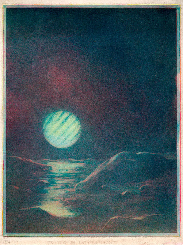 Triton im Neptunlicht [Triton in Neptune Light]